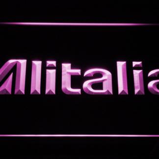 Alitalia neon sign LED