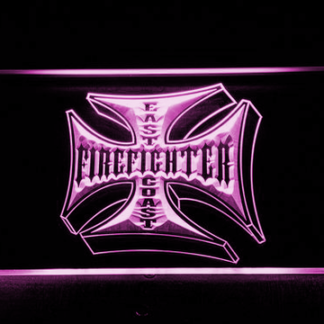 Fire Fighter East Coast neon sign LED