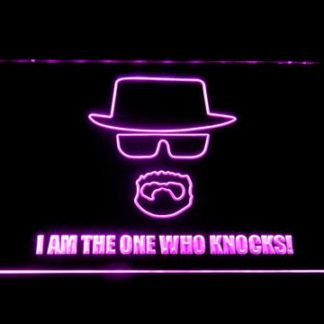Breaking Bad Bryan Cranston Knocks neon sign LED
