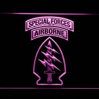 US Army Special Forces neon sign LED