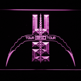 U2 360 Tour neon sign LED
