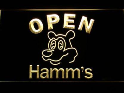 Hamm's Open neon sign LED