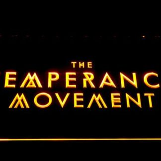 The Temperance Movement neon sign LED