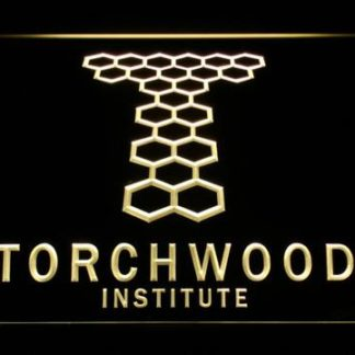 Torchwood Institute neon sign LED
