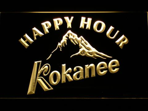 Kokanee Happy Hour neon sign LED