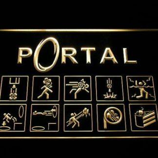 Portal neon sign LED