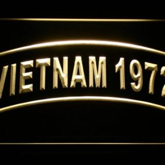 US Army Vietnam 1972 neon sign LED