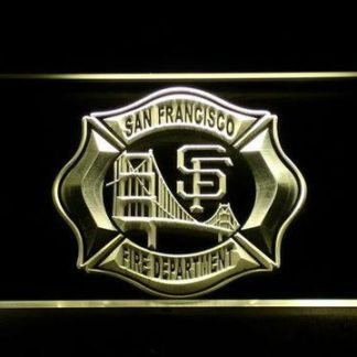Fire Department San Francisco neon sign LED