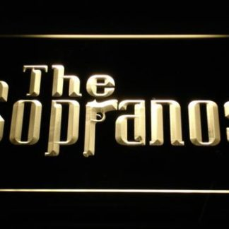 The Sopranos neon sign LED