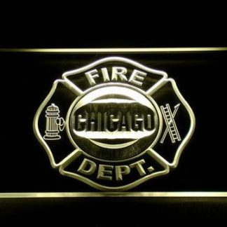 Fire Department Chicago neon sign LED