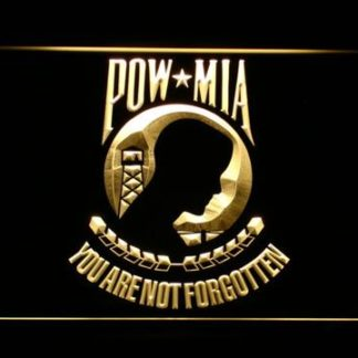 POW MIA neon sign LED