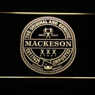 Mackeson Triple Stout neon sign LED