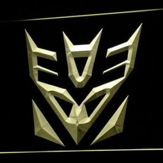 Transformers Decepticons Icon neon sign LED