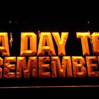 A Day to Remember neon sign LED