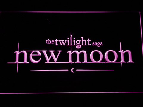 Twilight New Moon neon sign LED