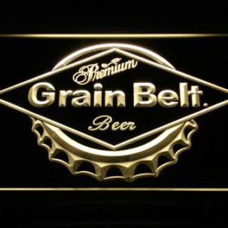 Grain Belt neon sign LED