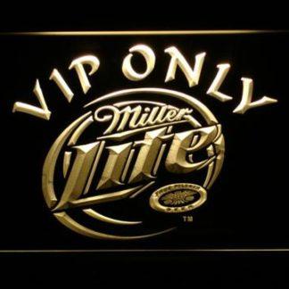 Miller Lite VIP Only neon sign LED