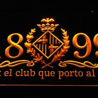 FC Barcelona 1899 Chant neon sign LED