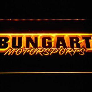 Bungart Motorsports neon sign LED