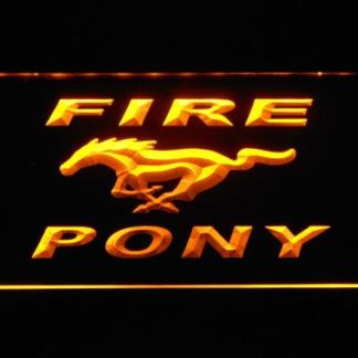 Ford Fire Pony neon sign LED