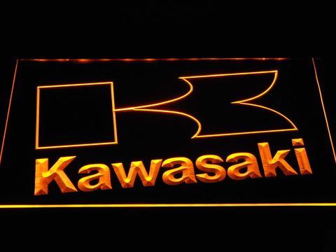 Kawasaki K Outline neon sign LED