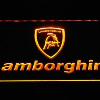 Lamborghini Wordmark neon sign LED