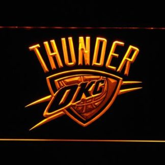 Oklahoma City Thunder neon sign LED