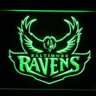 Baltimore Ravens 1996-1998 Logo - Legacy Edition neon sign LED