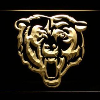 Chicago Bears Bear Logo neon sign LED