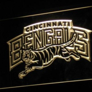 Cincinnati Bengals 1997-2003 Logo - Legacy Edition neon sign LED