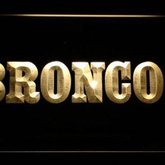 Denver Broncos 1968-1996 Logo - Legacy Edition neon sign LED