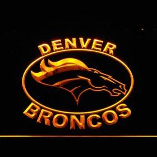 Denver Broncos Oval Logo neon sign LED