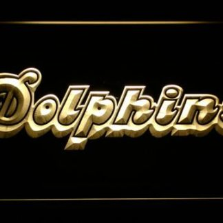 Miami Dolphins 1980-1996 - Legacy Edition neon sign LED