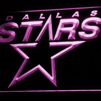 Dallas Stars - Legacy Edition neon sign LED