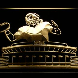 New York Giants QB neon sign LED