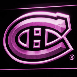 Montreal Canadiens neon sign LED