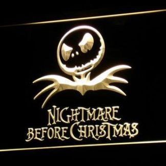 Nightmare Before Christmas neon sign LED
