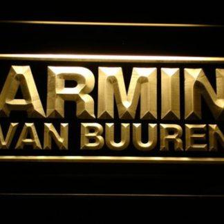 Armin Van Buuren neon sign LED