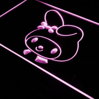 My Melody Head neon sign LED