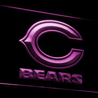 Chicago Bears neon sign LED