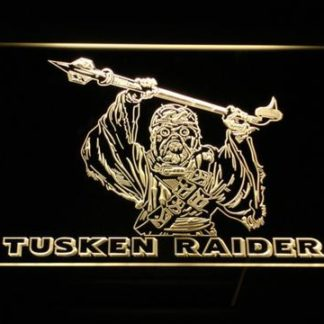 Star Wars Tusken Raider neon sign LED