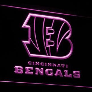 Cincinnati Bengals B neon sign LED