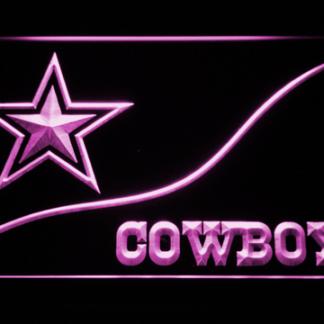Dallas Cowboys Split neon sign LED