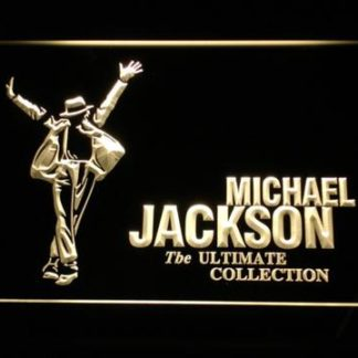 Michael Jackson Ultimate Collection neon sign LED