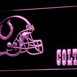 Indianapolis Colts neon sign LED