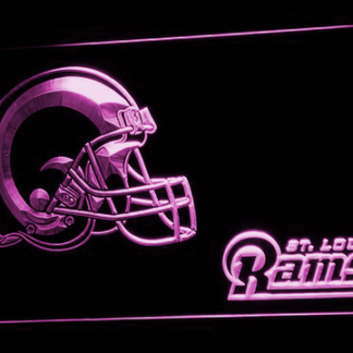 Los Angeles Rams Helmet - Legacy Edition neon sign LED