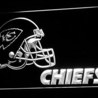 Kansas City Chiefs Helmet neon sign LED
