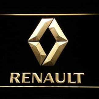 Renault neon sign LED