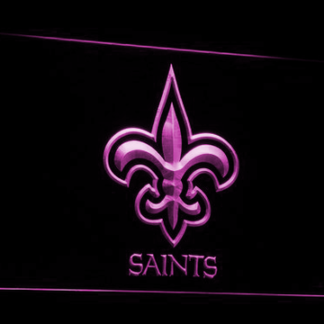 New Orleans Saints Logo neon sign LED