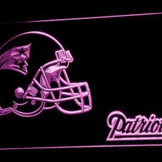 New England Patriots Helmet neon sign LED